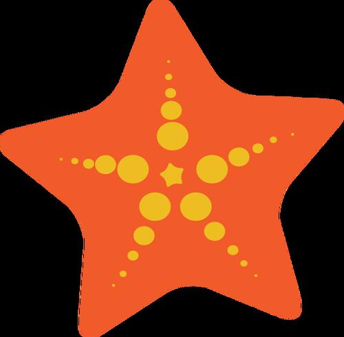 500x490 Starfish Drawing Public Domain Vectors