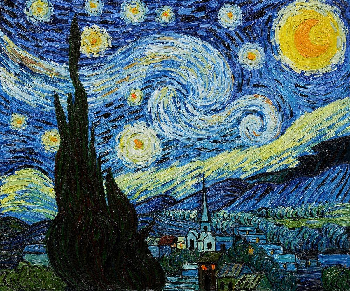 1200x1000 Norwegian Spirals Van Gogh Spiral Spirals The Starry Night By Van