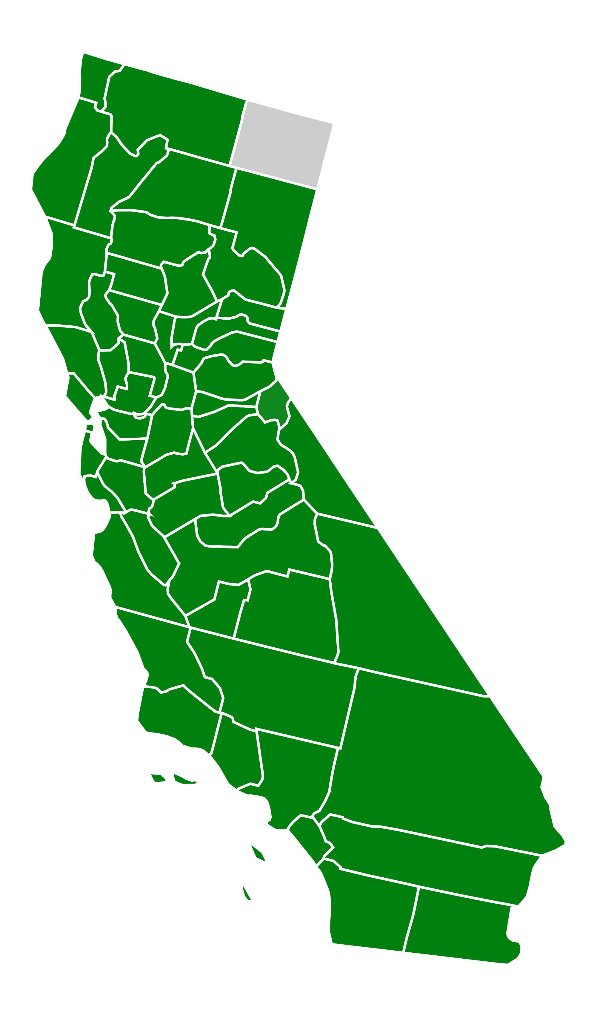 2000x3401 Filecalifornia Green Presidential Primary Election Results By