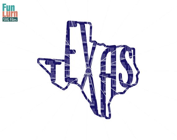 570x452 Texas Svg, Texas Word Art, Texas Map Typography, Word Art