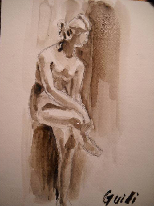 500x667 Can'T Find A Live Model To Draw Or Paint From Try A Statue!