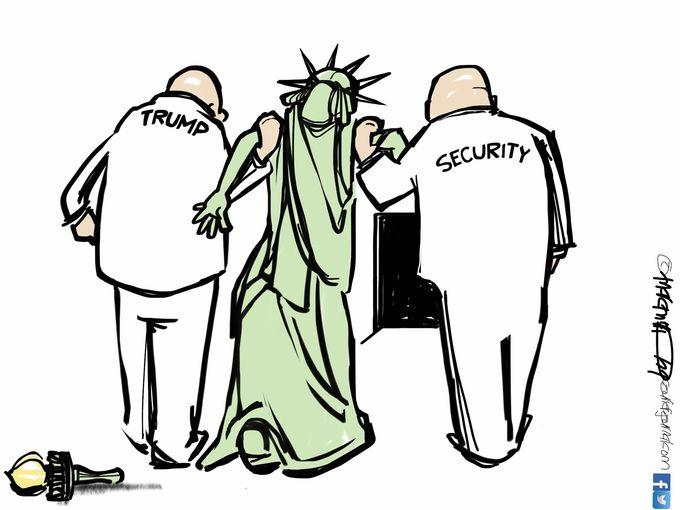 680x510 January Political Cartoons From Gannett Cartoonists Liberty