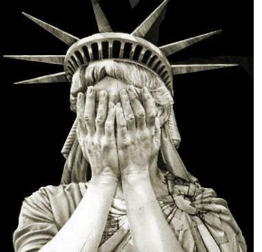 380x366 Statue Of Liberty With Tear Eye