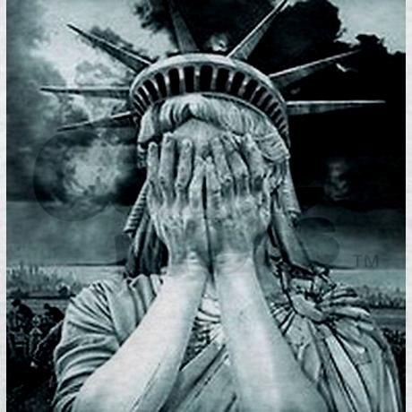 460x460 Statue Of Liberty Crying Image