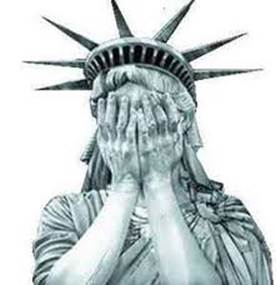 276x285 Statue Of Liberty Weeping Crying
