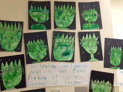 400x300 Chalk Talk A Kindergarten Blog The Statue Of Liberty