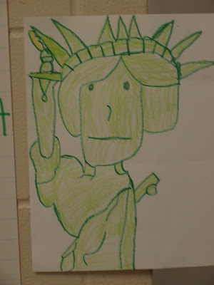300x400 Directed Draw For Statue Of Liberty Directed Drawings