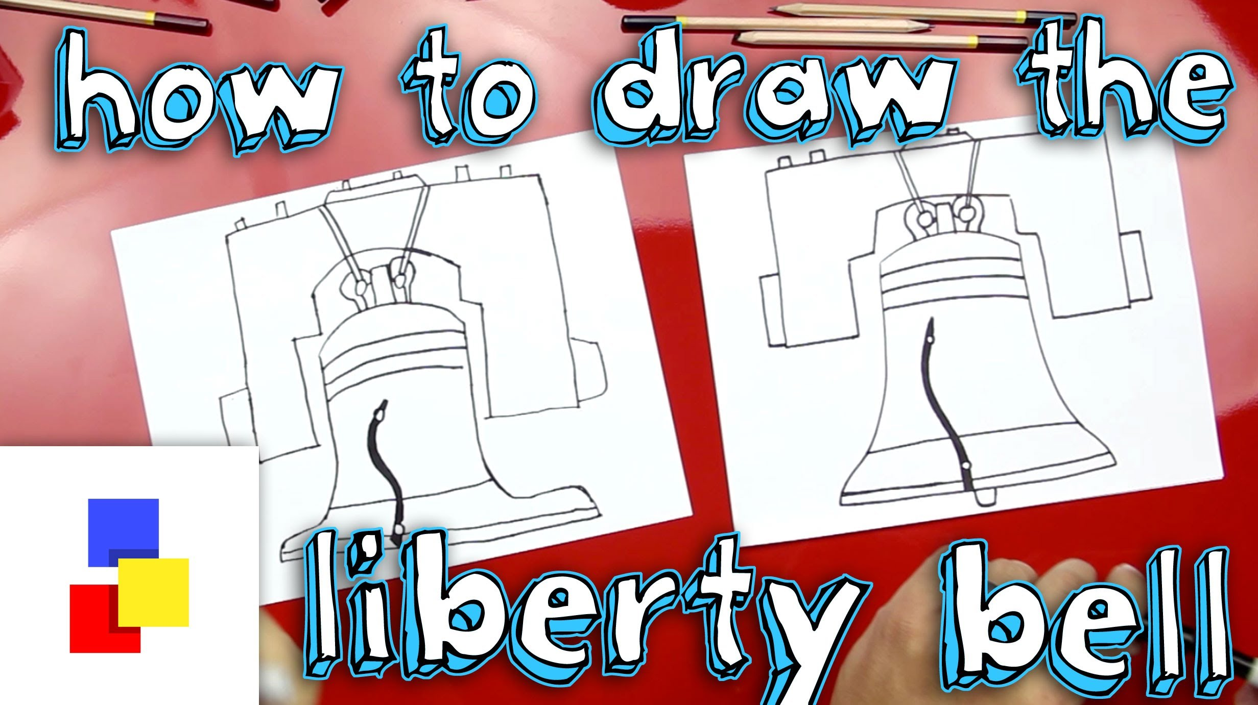2463x1381 How To Draw The Liberty Bell