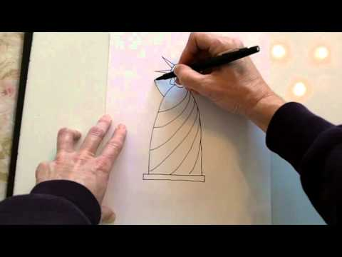 480x360 How To Draw A Simple Statue Of Liberty