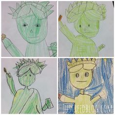 236x236 Statue Of Liberty Craft Directed Draw Sciencesocial Studies