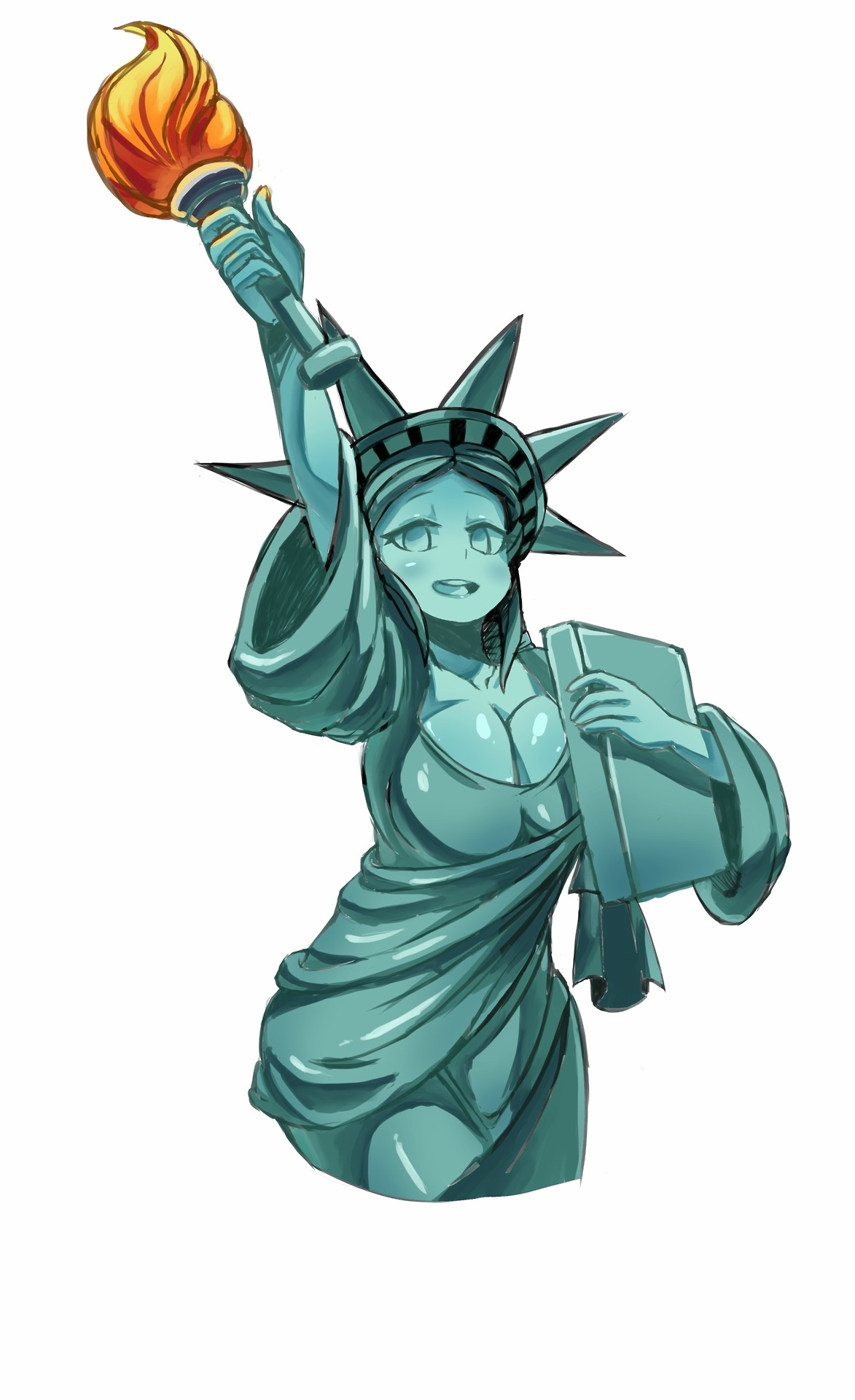 1173x1920 Statue Of Liberty Rule 34 Know Your Meme