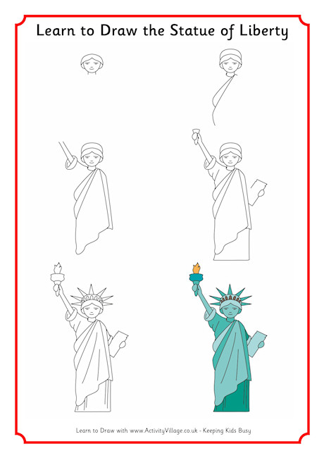 460x650 Learn To Draw The Statue Of Li