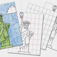 236x236 Art Projects For Kids Free Statue Of Liberty Drawing Guide Apfk