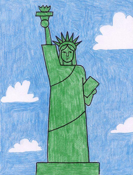 534x700 Statue Of Liberty Liberty, Social Studies And American Symbols