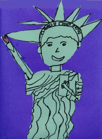 350x479 Statue Of Liberty Inner Thoughts Liberty