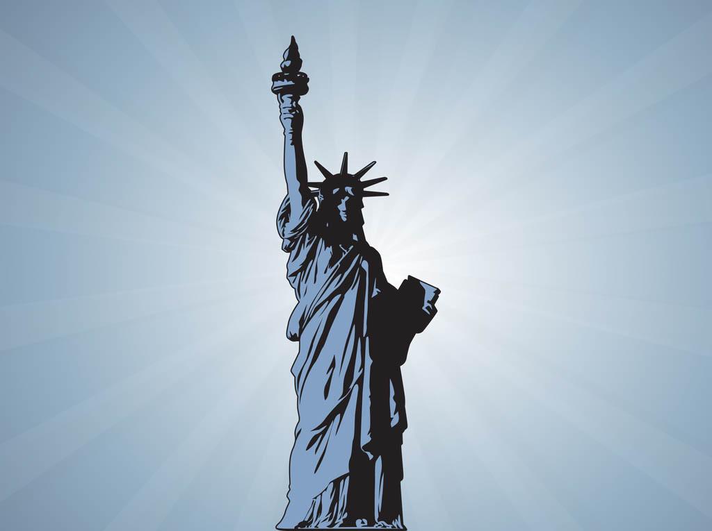 1024x765 Statue Of Liberty Vector Vector Art Amp Graphics