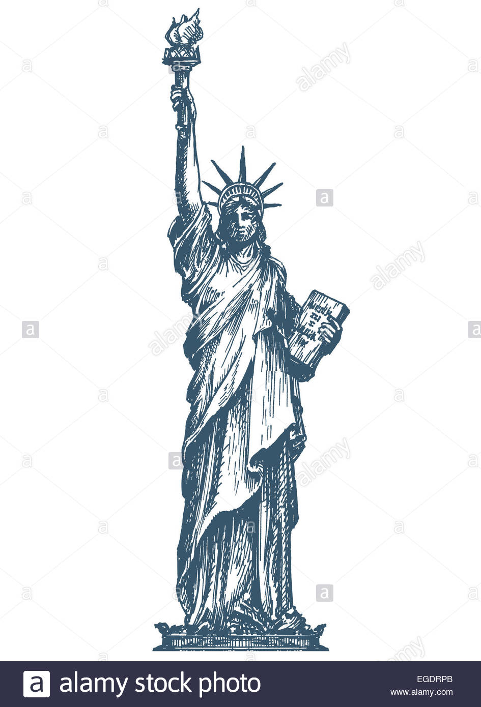 945x1390 Usa Logo Design Template. United States Or Statue Of Liberty