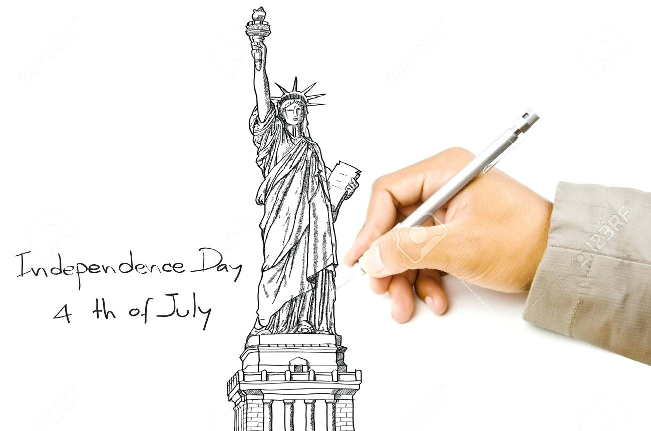 1300x861 Statue Of Liberty Outline Coloring Page Pages To Print As