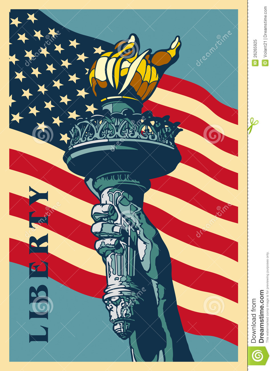 Statue Of Liberty Torch Drawing At Getdrawings Com Free