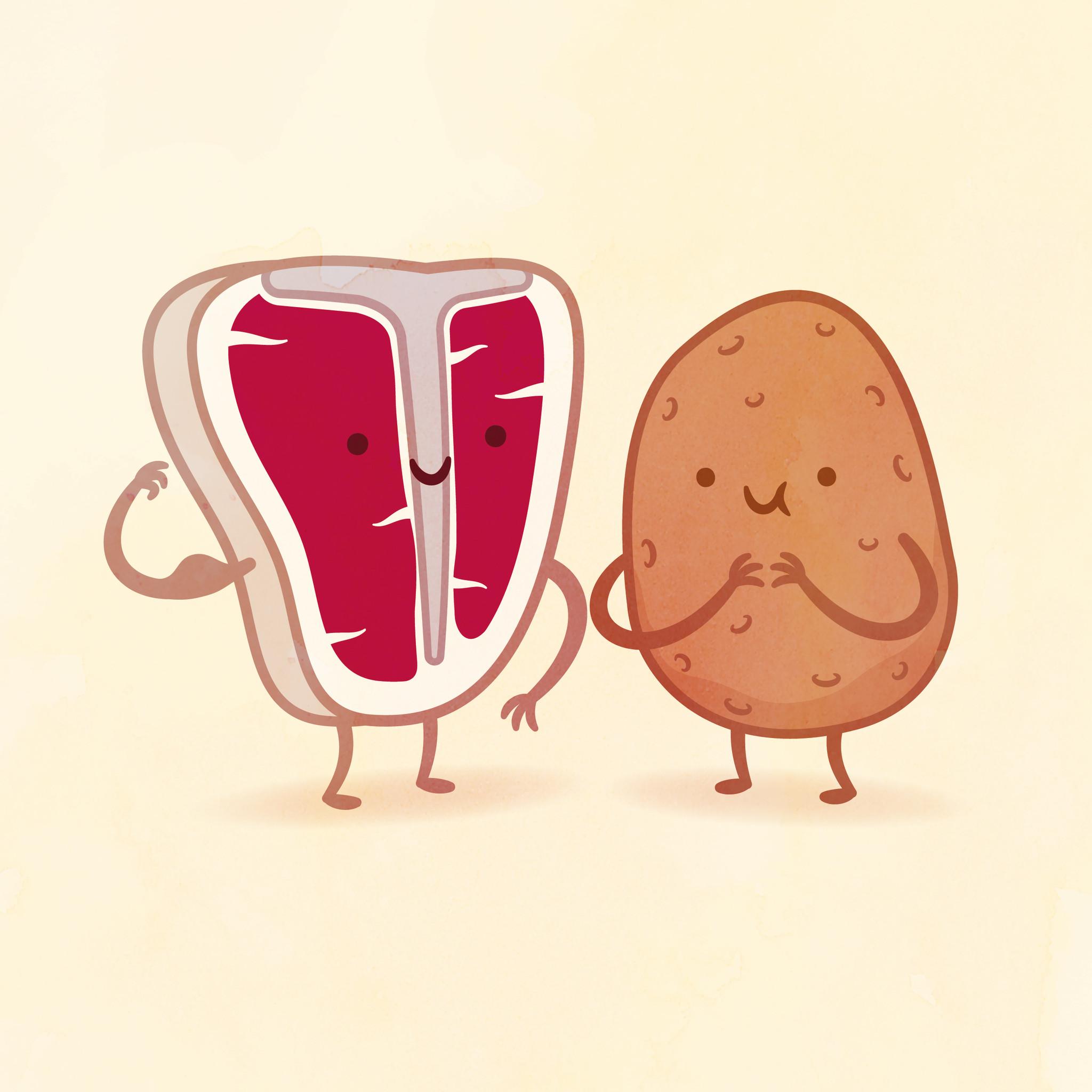 2048x2048 And Potato By Philip Tseng