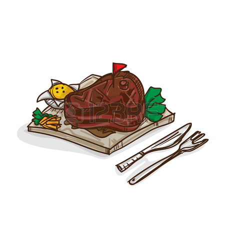 450x450 Steak Meat Steak Drawing Graphic Royalty Free Cliparts, Vectors