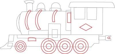 400x187 4. Draw The Wheels
