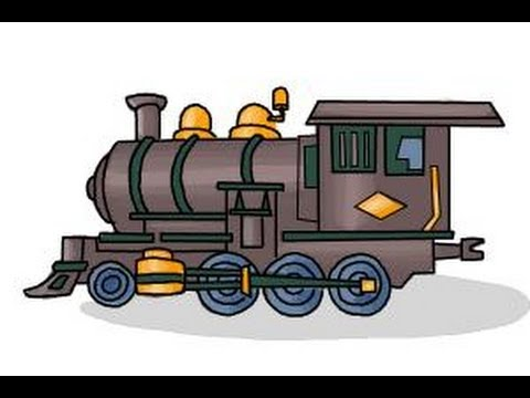 480x360 How To Draw A Steam Train