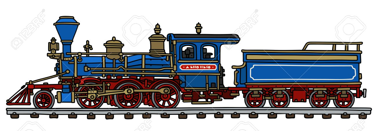 Steam Engine Train Drawing at GetDrawings | Free download