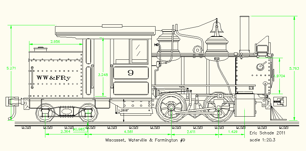 978x483 Cad Drawings Available For Live Steam Locomotives