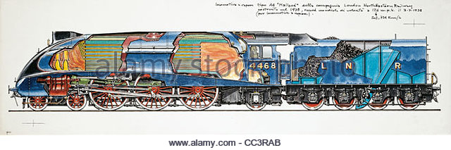 640x213 Drawing Of Steam Locomotive Stock Photos Amp Drawing Of Steam