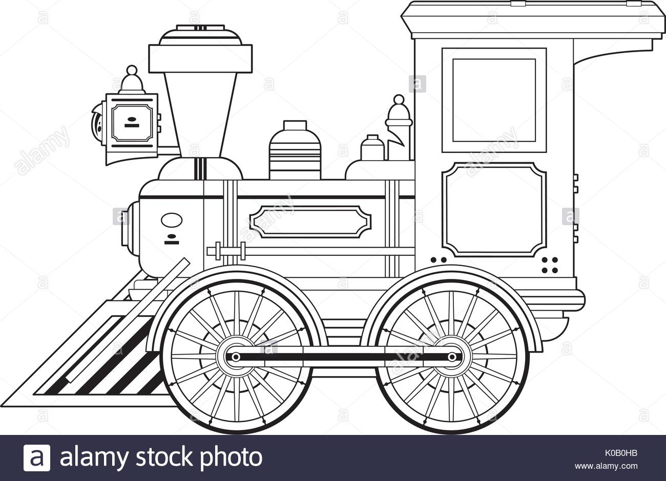 1300x940 Steam Train Illustration Stock Photos Amp Steam Train Illustration