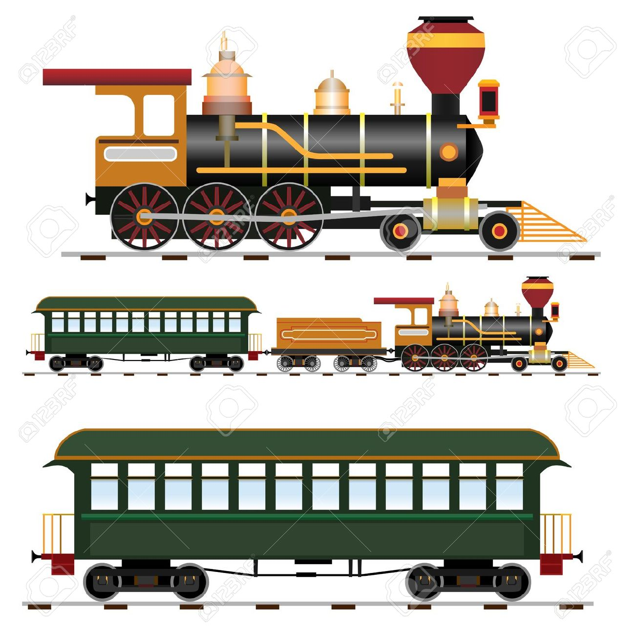 Steam Trains Drawing at GetDrawings | Free download
