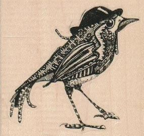 285x269 Bird With Top Hat