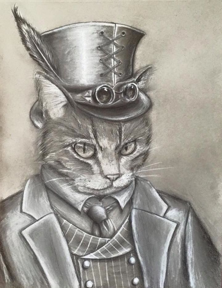 720x935 64 Best Steampunk Kitties Images On Steampunk Cat