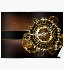 210x230 Antique Clock Drawing Posters Redbubble