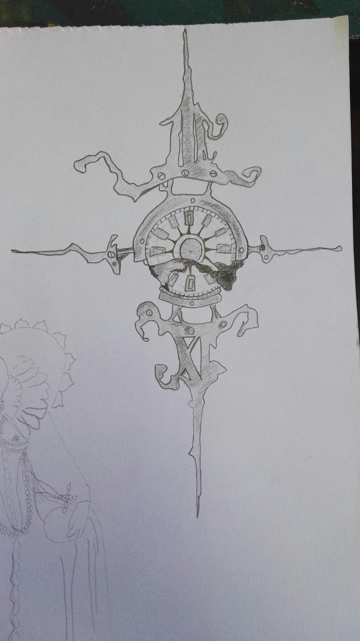 1168x2080 Mechanical Compass