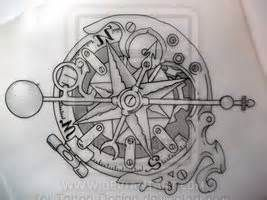 267x200 Steampunk Compass Drawings