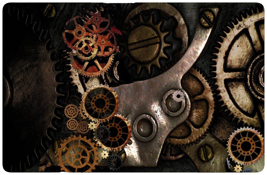 900x590 Cogs And Gears Steampunk Handmade Art
