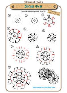 236x324 Steampunk Gear Collection Machine Gear, Wheel Cogwheel Vector
