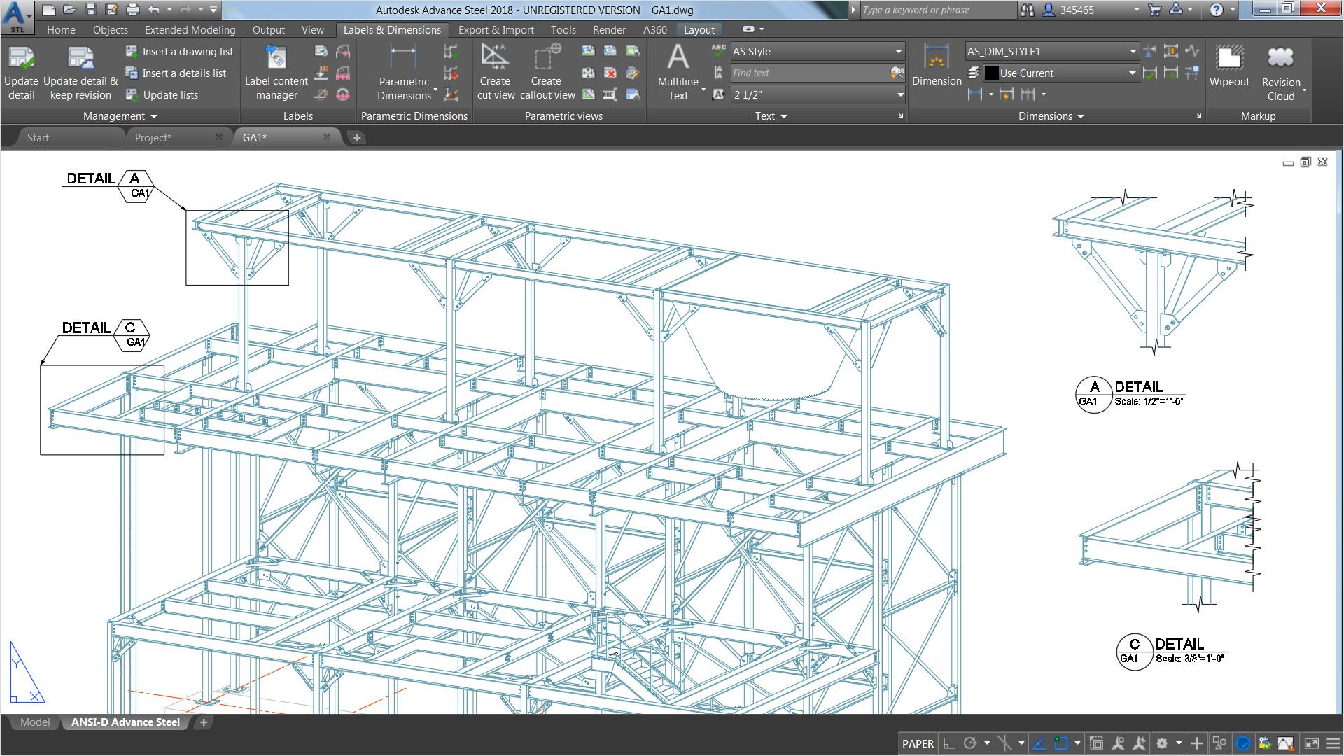 1920x1080 Structural Steel Design Advance Steel Features Autodesk