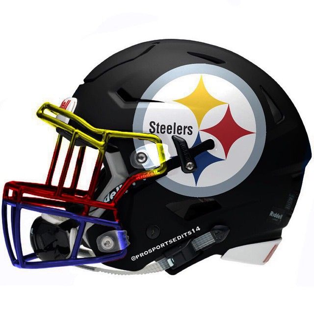 640x640 Check Out More Awesome Unofficial Alternate Nfl Helmets Steelers