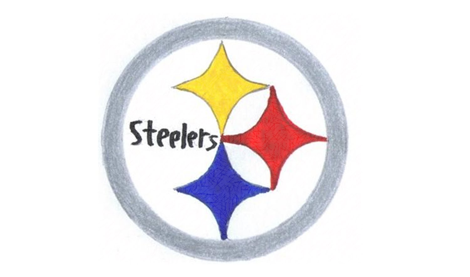 1500x885 How To Draw The Pittsburgh Steelers Logo (Nfl)