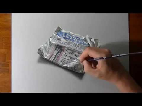 480x360 Best Icredible 3d Drawing By Stefan Pabst [Le Figaro]