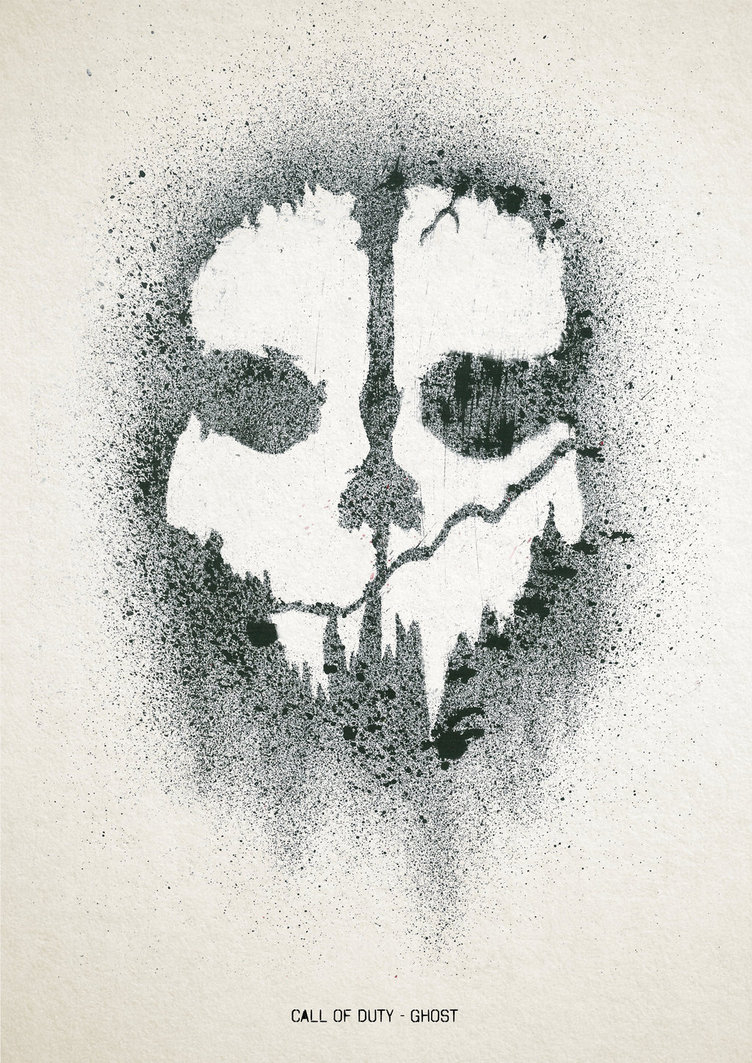 752x1063 Call Duty Ghosts Drawing Call Duty Ghost Stencil Call