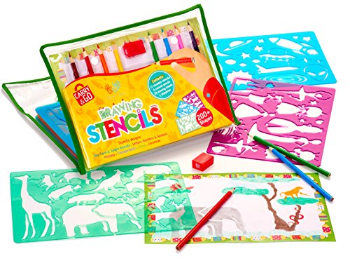 500x375 Drawing Stencils Art Set For Kids By Creativ' Craft