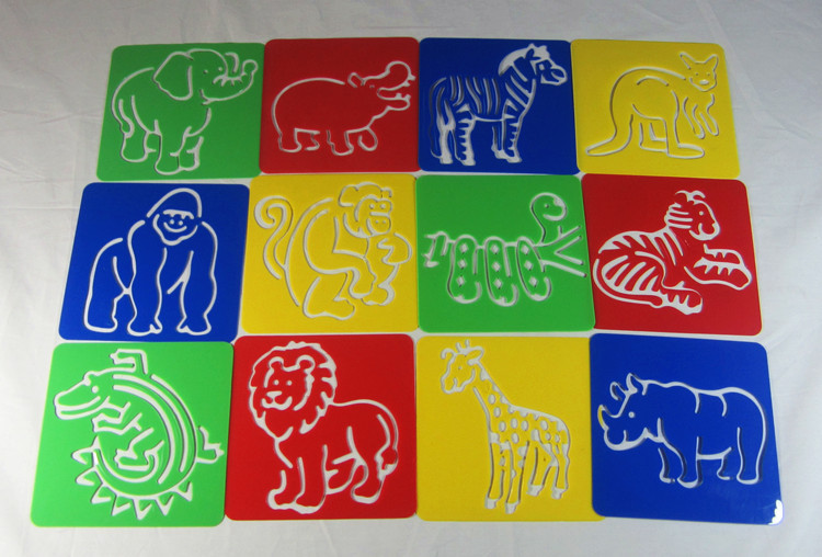 750x508 Free Shipping ,wild Animal Theme,lion,elephant,tiger Kids Plastic