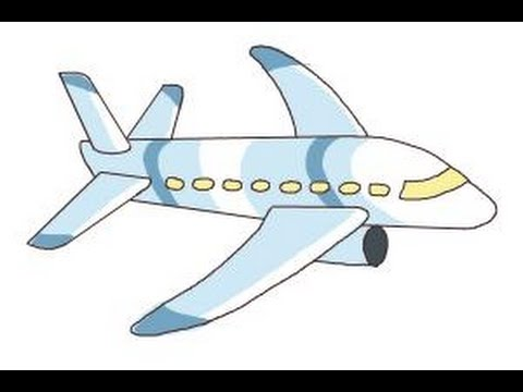 480x360 How To Draw A Simple Airplane