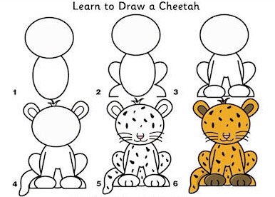 386x276 Learn To Draw African Animals Simple Diys Kids Activities