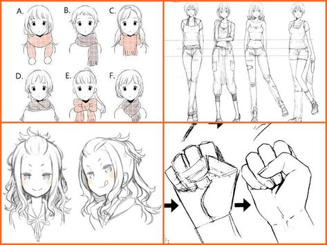 473x355 Step By Step Anime Drawing