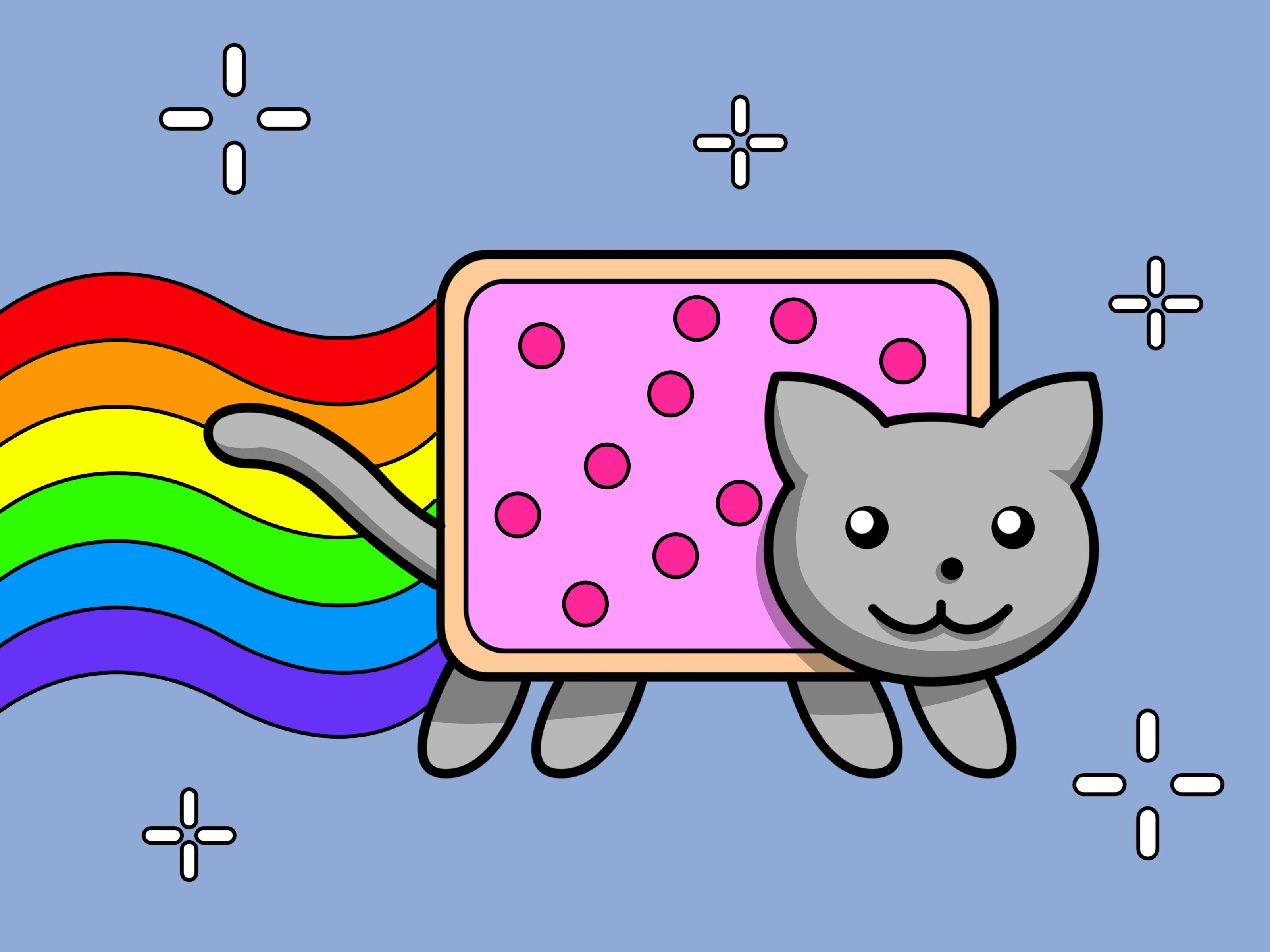 3200x2400 How To Draw Nyan Cat 10 Steps (With Pictures)